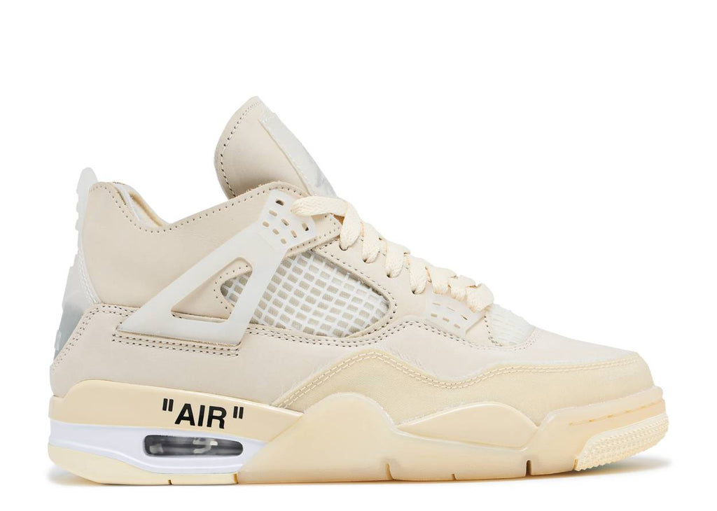 Off-White x Nike Air Jordan 4 Retro Sail (W)