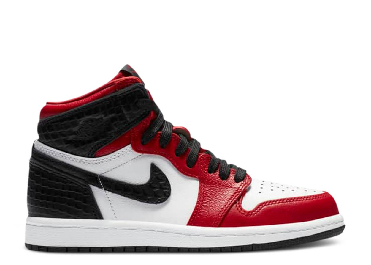 Nike Air Jordan 1 Retro High Satin Snake Chicago (PS)