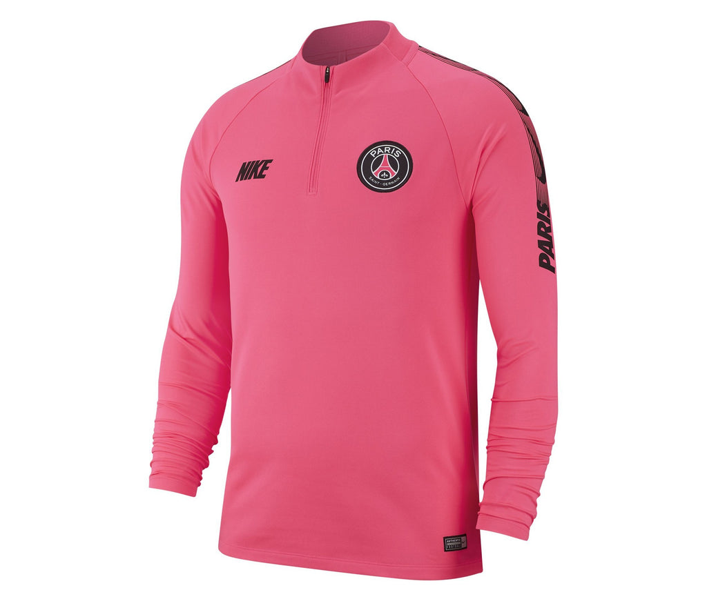 Nike Paris Saint-Germain Dry-Fit Squad Drill Top Long Sleeve 2018/2019 Hyper Pink