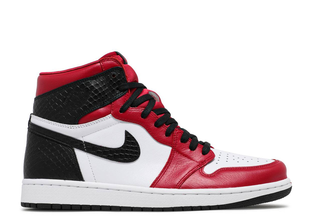 Nike Air Jordan 1 Retro High Satin Snake Chicago (W)