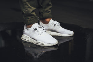 Adidas NMD R1 Primeknit 'Japan Triple White'