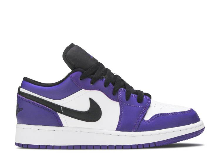 Nike Air Jordan 1 Low Court Purple White (GS)