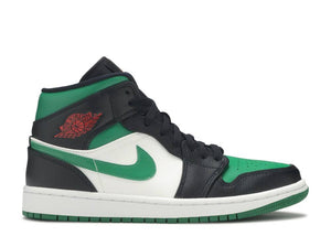Nike Air Jordan 1 Mid 'Green Toe'