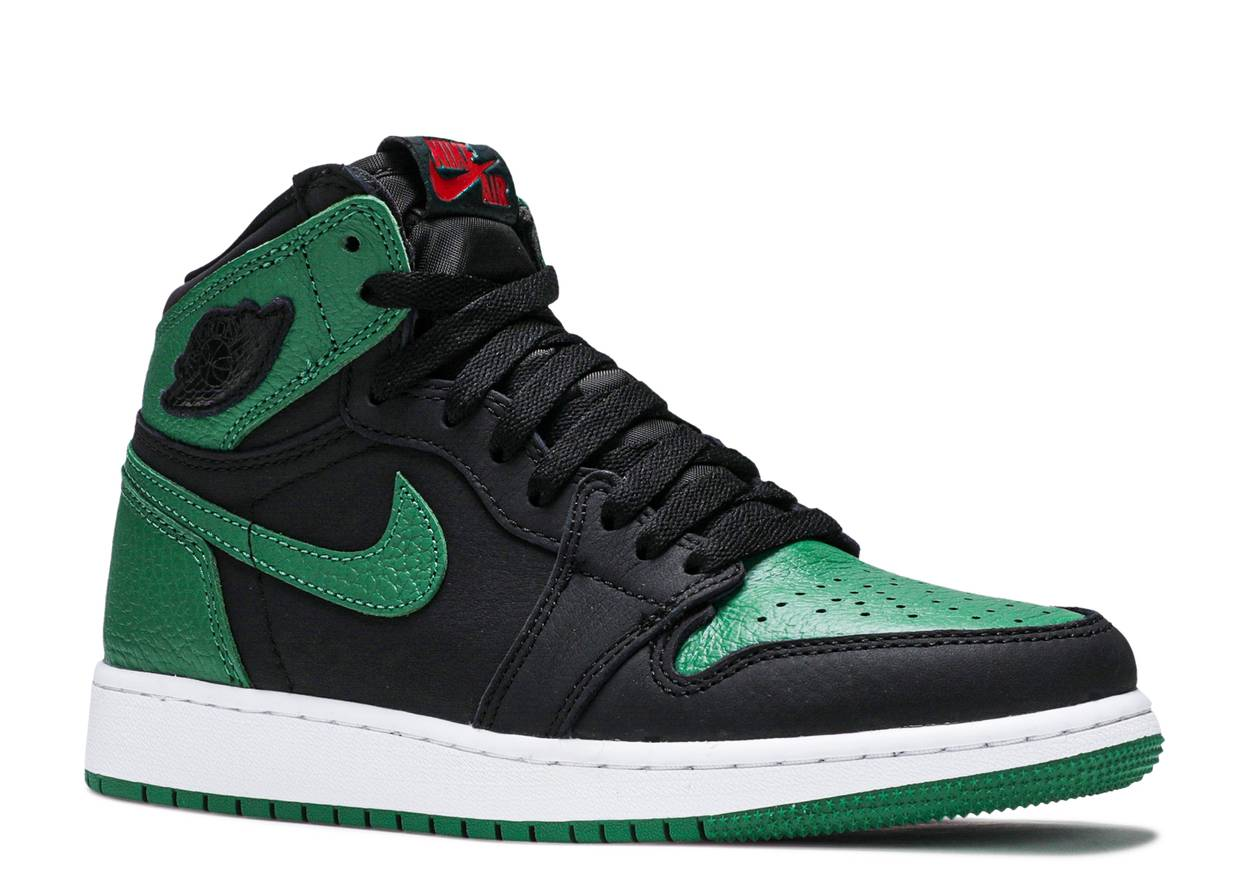 Nike Air Jordan 1 Retro High OG GS 'Pine Green Black'