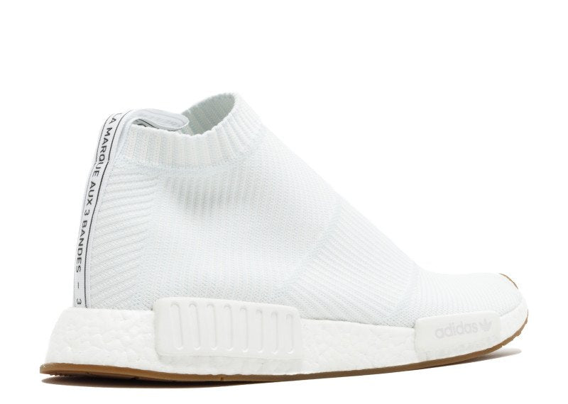new lifestyle super cheap retail prices Adidas NMD CS1 City Sock Primeknit Gum Pack 'White/Gum'