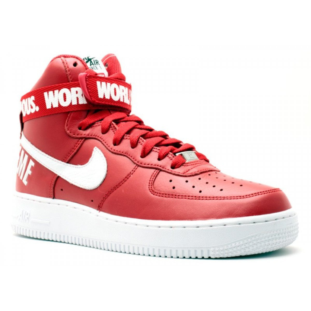 Nike X Supreme Air Force 1 High SP 'Red'