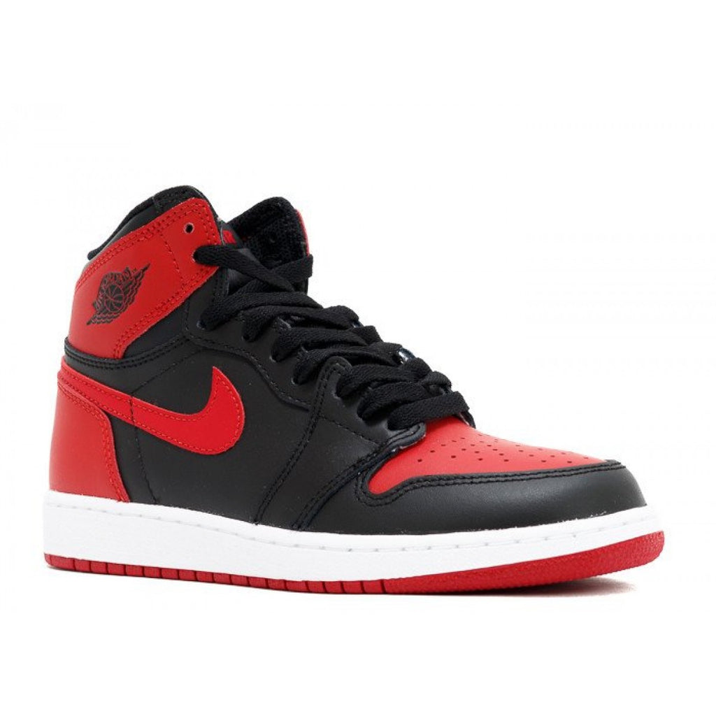 Nike Air Jordan 1 Retro High OG BG 'Banned Bred'