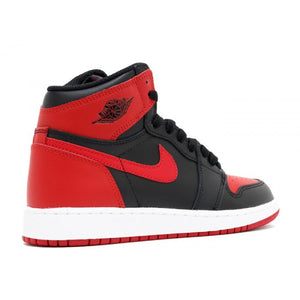 Nike Air Jordan 1 Retro High OG BG 'Banned Bred 2016'