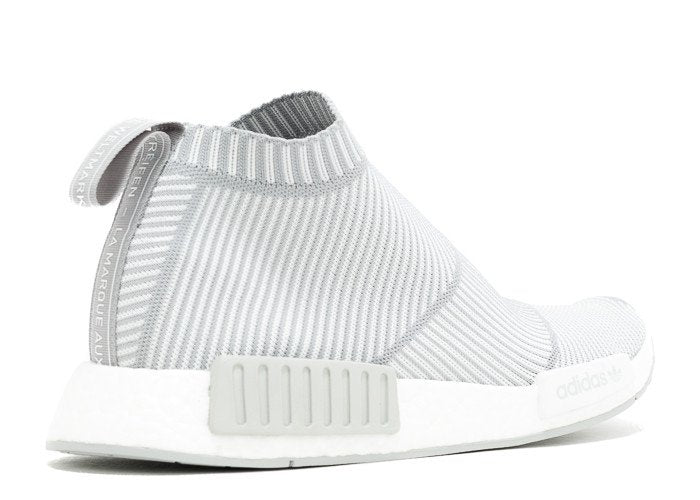 best sneakers 61f8a ad208 Adidas NMD CS1 Primeknit City Sock 'White/Grey'