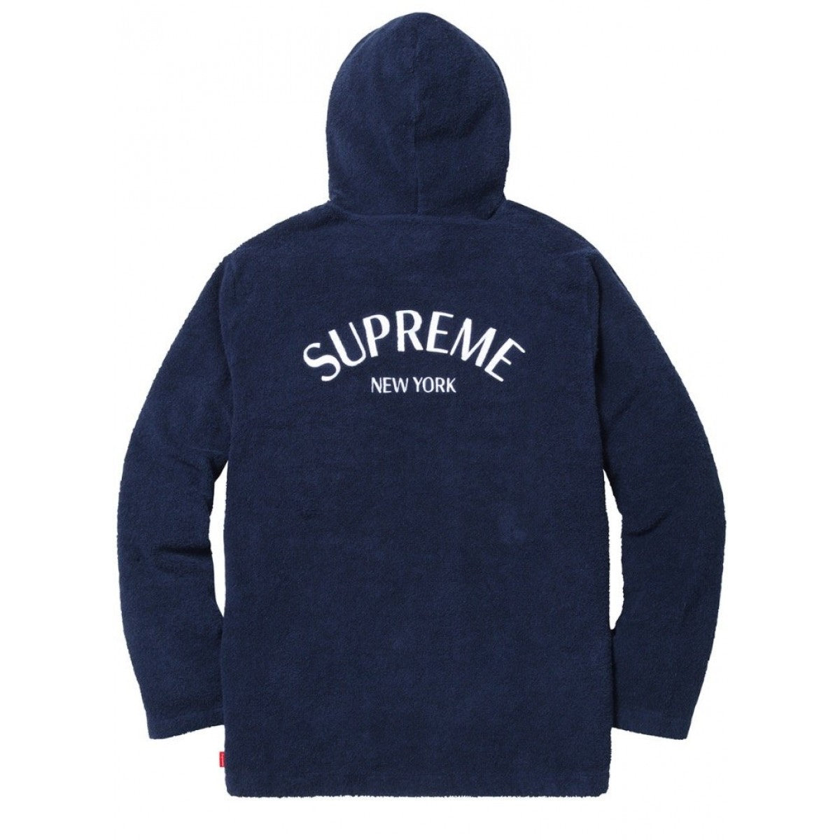 Supreme Terry Zip Up Sweat 'Navy'