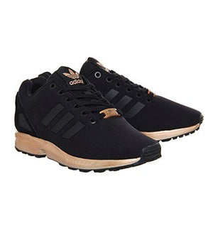 new product ea88e cb88d Adidas ZX Flux W 'Light Copper Metallic'