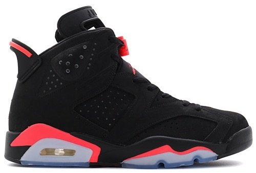 Nike Air Jordan 6 Retro 'Black Infrared'
