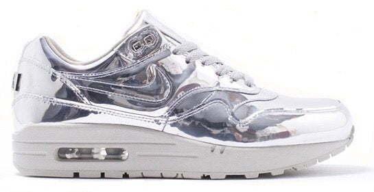 796dc38200 Nike Air Max 1 SP 'Liquid Silver' – CREP LDN