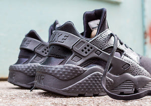 Nike Women's Air Huarache Black Safari Lizard