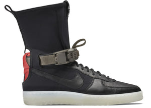 Acronym X Nike Air Force 1 Downtown Hi SP 'Black Crimson'