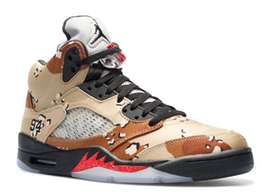 Supreme X Nike Air Jordan 5 Retro 'Camo'