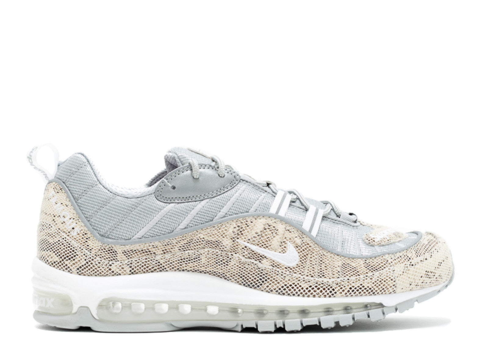 best authentic 3f107 d2e4f Supreme X Nike Air Max 98 'Snakeskin'