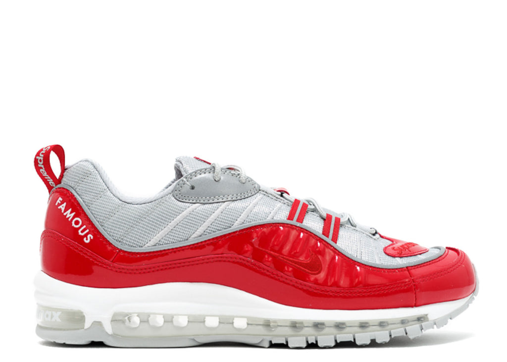 Supreme X Nike Air Max 98 'Varsity Red'