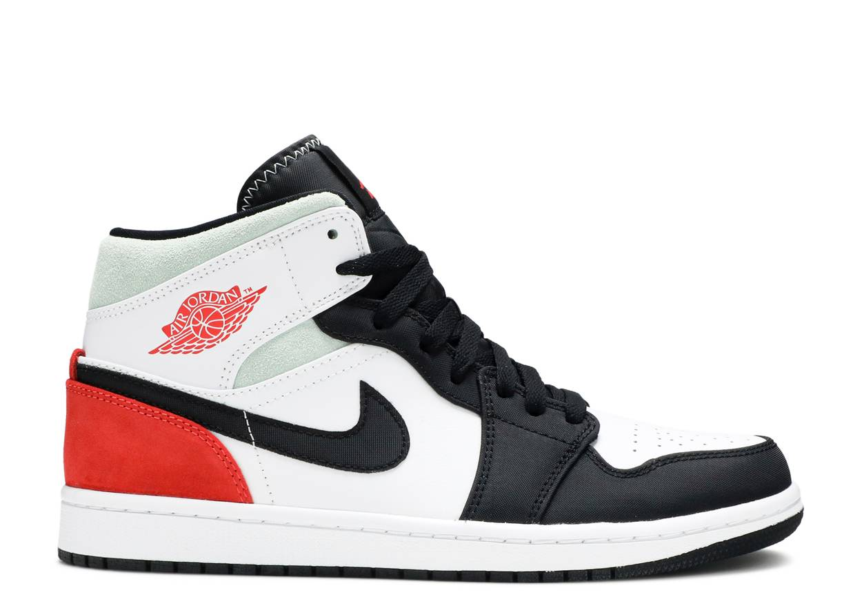 Nike Air Jordan 1 Mid 'Union Black Toe'