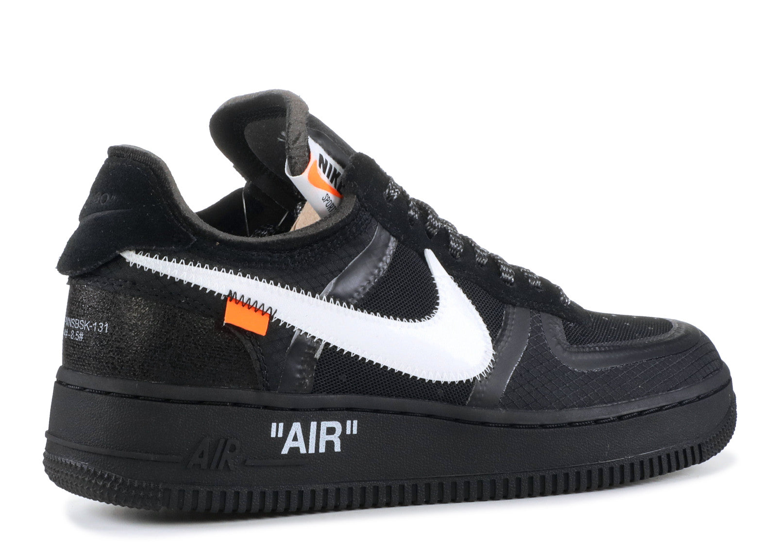 Off-White X Nike Air Force 1 Low 'Black