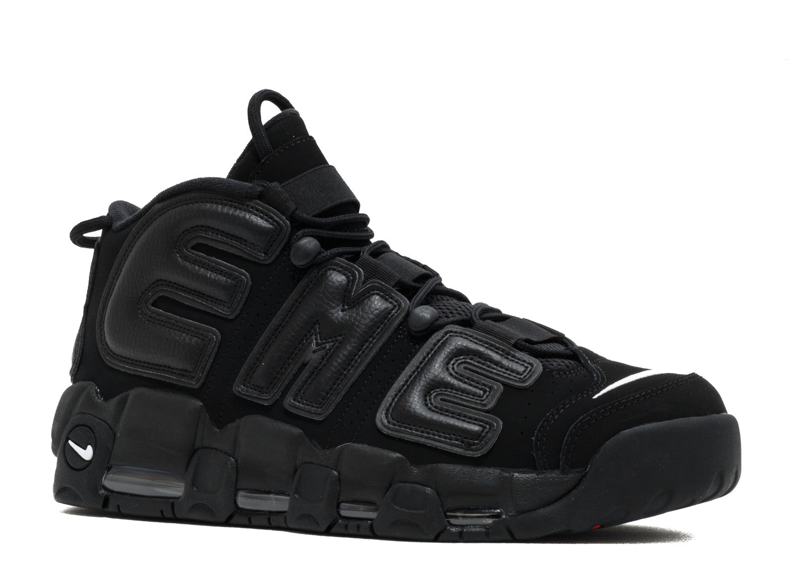 Supreme X Nike Air More Uptempo 'Black'