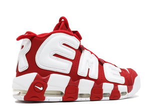 Supreme X Nike Air More Uptempo 'Red'