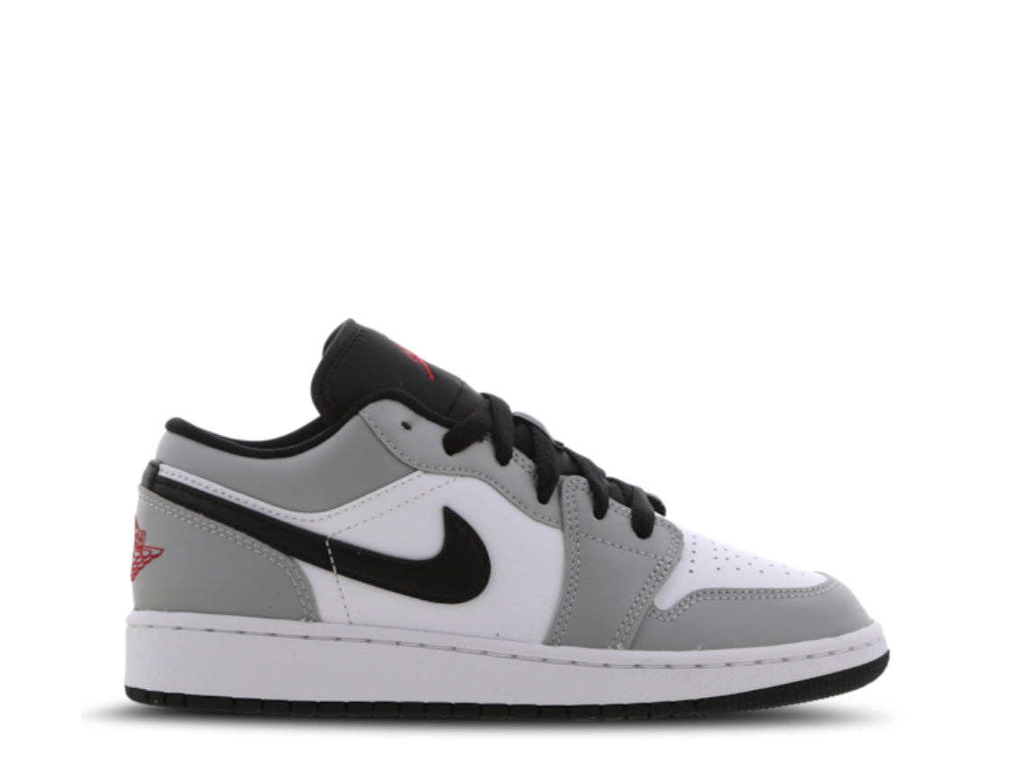 Nike Air Jordan 1 Low Gs Light Smoke Grey Crep Ldn