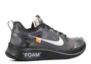 Off-White X Nike Zoom Fly 'Black'