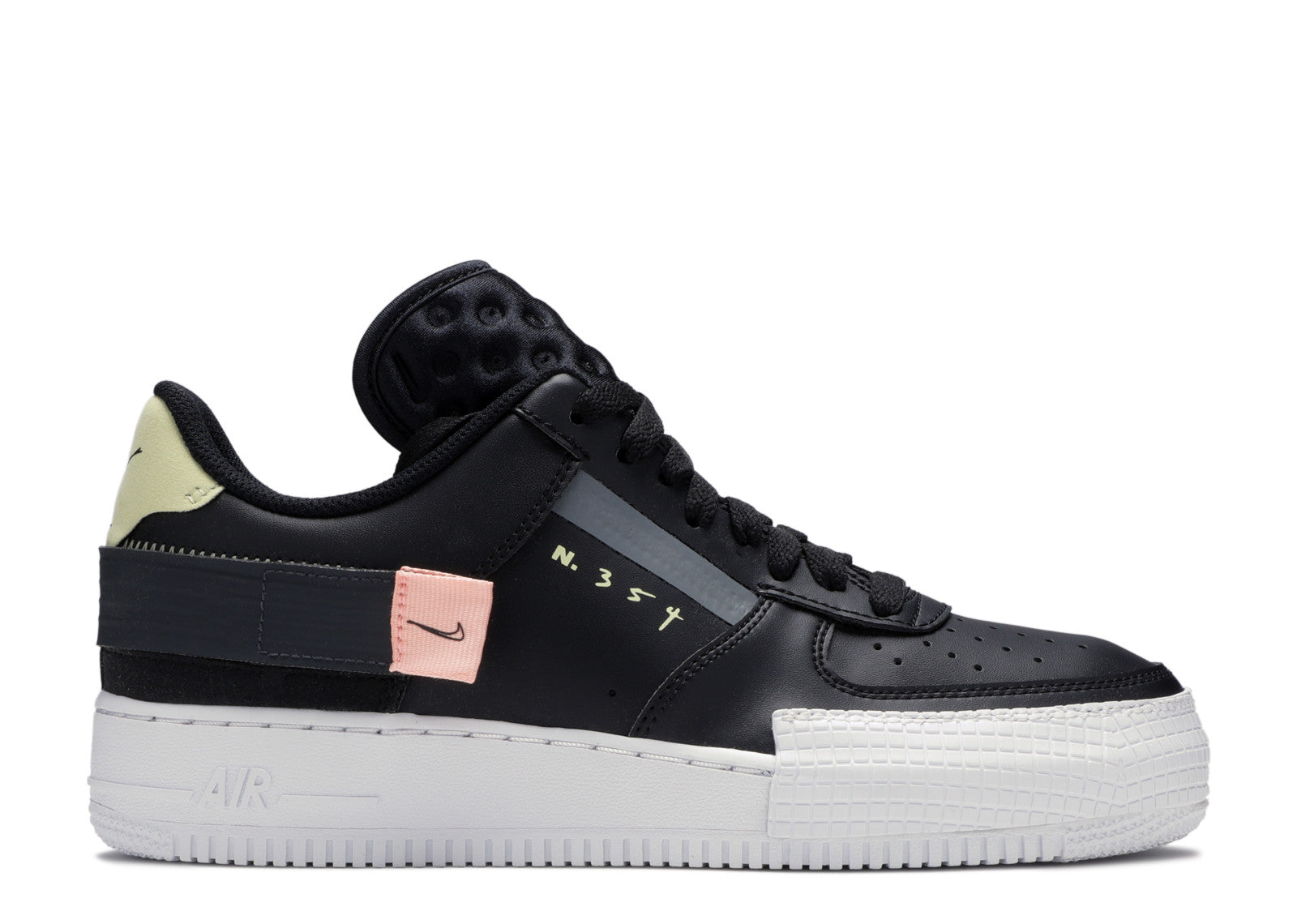 Nike Air Force 1 Low Type 'Black Pink Tint'