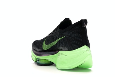 Nike Air Zoom Alphafly Next% Black Electric Green