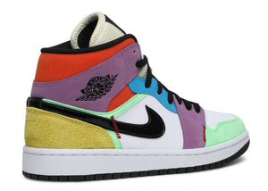 Nike Air Jordan 1 Mid SE Multi-Color (W) 'Lightbulb'