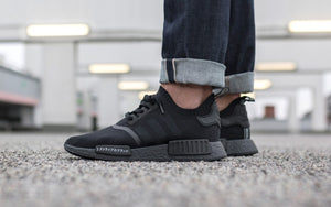 Adidas NMD R1 Primeknit 'Japan Triple Black'