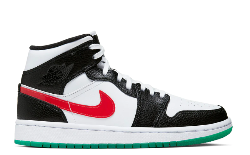 Nike Air Jordan 1 Mid Wmns 'Alternate Swoosh'