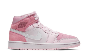 Nike Air Jordan 1 Mid Wmns 'Digital Pink'