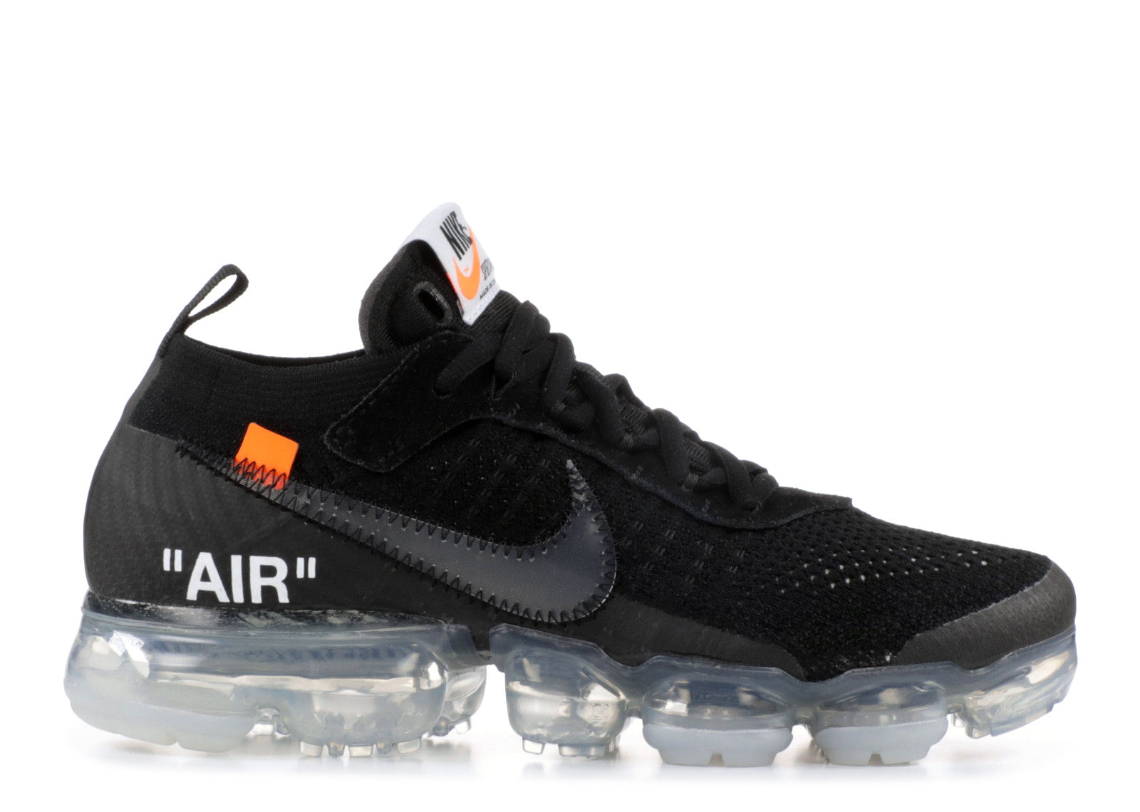 vapormax white and black