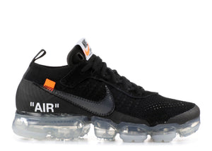 Off-White X Nike Air Vapormax Flyknit 'Black Clear'