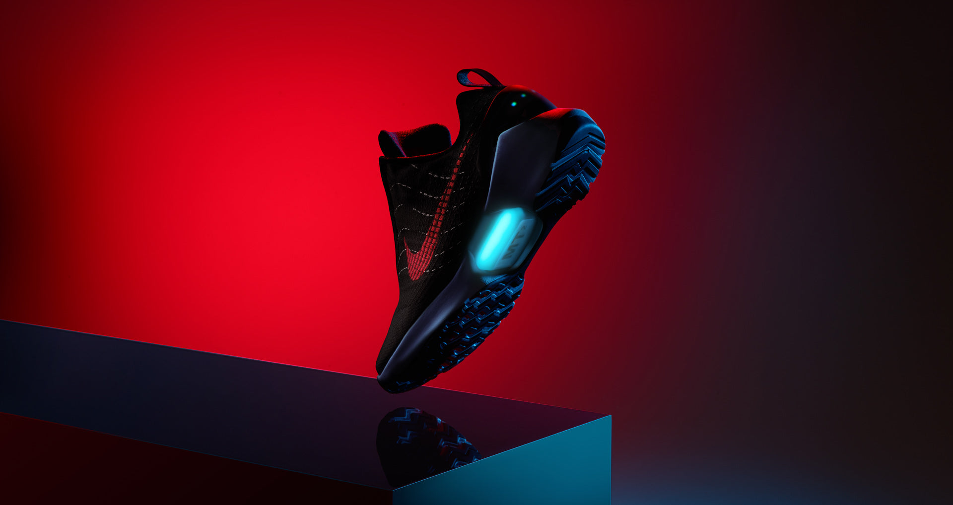 Nike Air Hyper Adapt 1.0 UK 'Black University Red'
