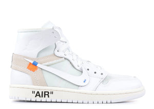 Off-White X Nike Air Jordan 1 Retro GS 'White'