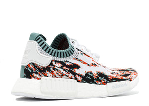 Sneakersnstuff X Adidas NMD R1 PK Datamosh 'Collegiate Orange''