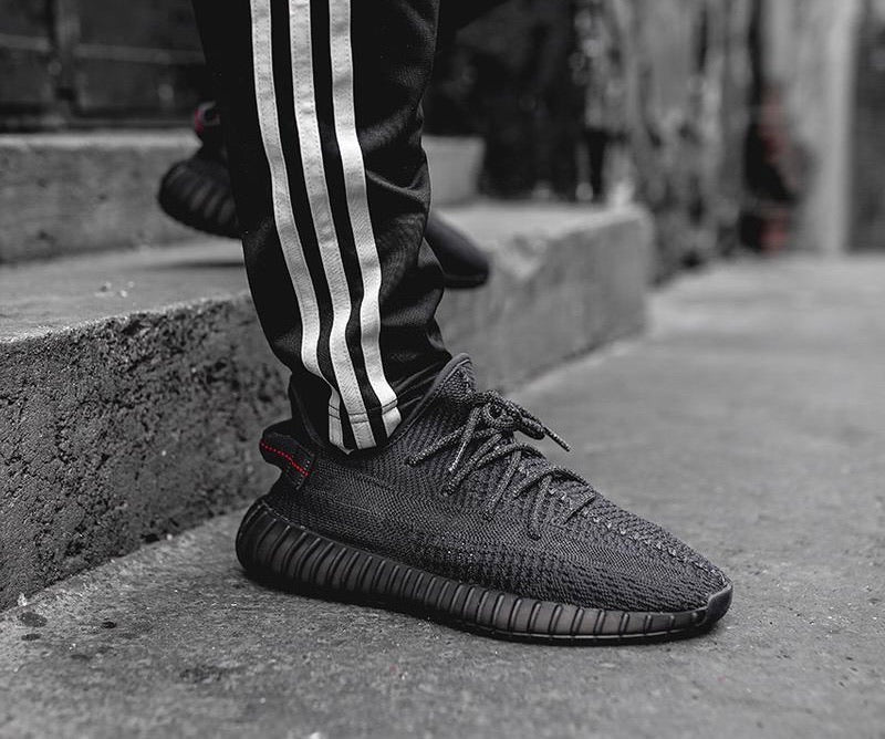 Adidas Yeezy Boost 350 V2 Static Black Non-Reflective