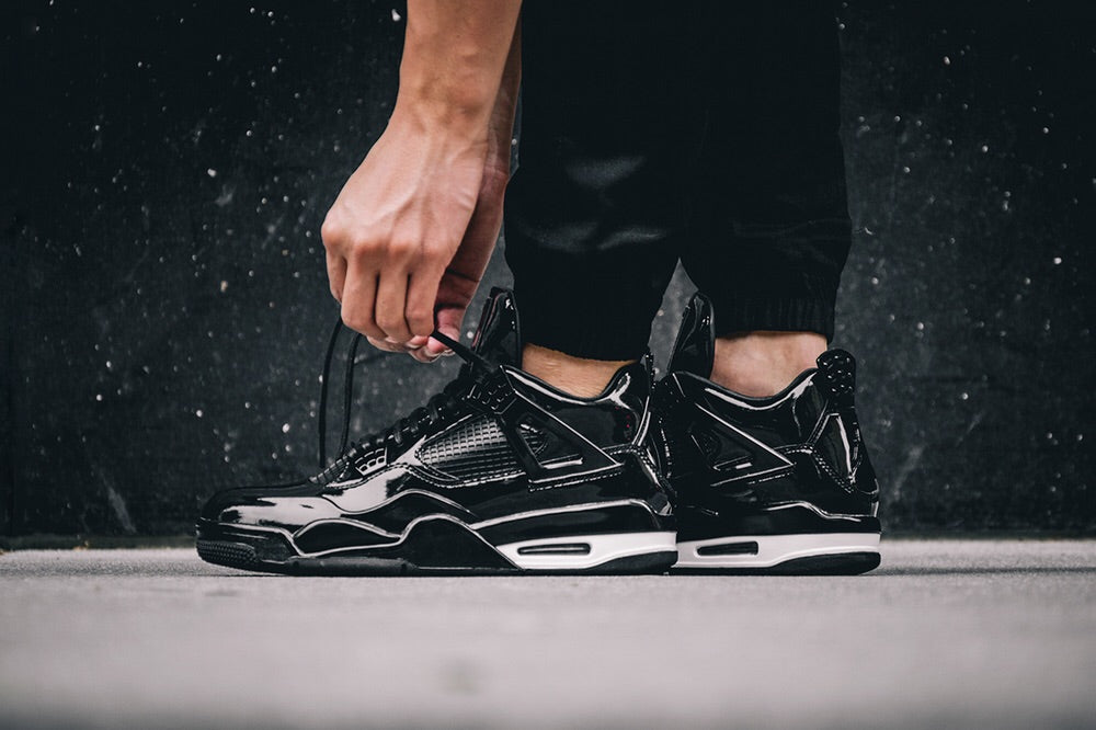 Nike Air Jordan 11Lab4 'Black Patent'