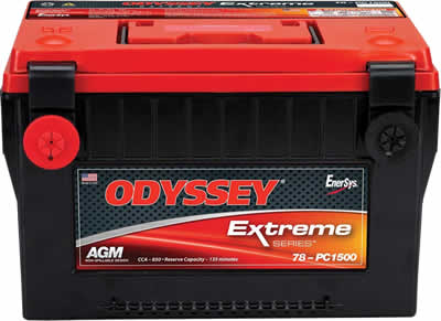 Odyssey Extreme Group 78 Battery 2001-2007 LB7, LLY, LBZ Duramax