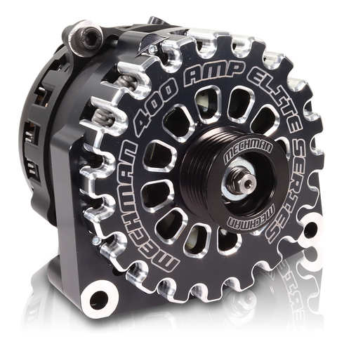 Mechman Billet 400 Amp Elite Series Alternator for 2001-2007 Classic Duramax