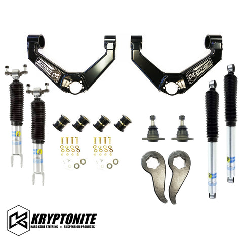 KRYPTONITE STAGE 3 LEVELING KIT WITH BILSTEIN SHOCKS 2011-2019