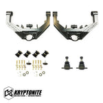 "KRYPTONITE UPPER CONTROL ARM KIT ""STAGE 2 DUAL SHOCK"" 2001-2010"