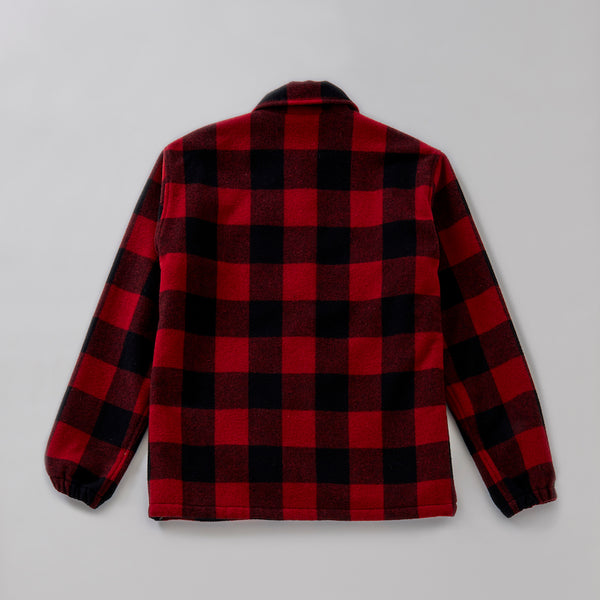 BLOCK CHECK COACH JACKET