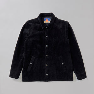 BLACKMEANS / COACH JACKET - Black