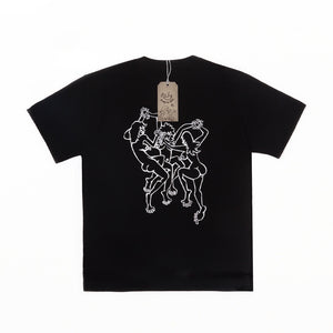 BORN IN HELL TEE - Black