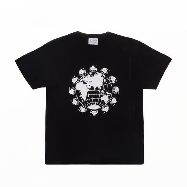 WORLD PEACE NOW TEE - Black
