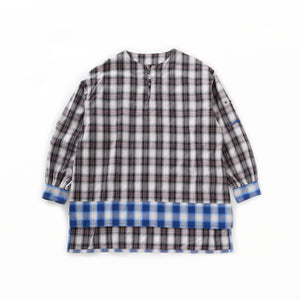Long Tunic - Shadow Plaid